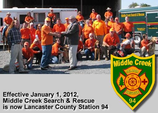 MIDSAR - Middle Creek Search & Rescue